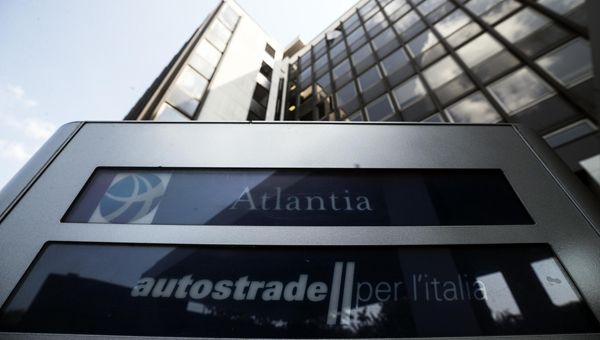 Atlantia, utile 9 mesi aumenta a 1,3 miliardi di euro