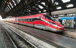"""Trenitalia, dal 9 marzo cambio numero per il Frecciarossa dello """"svio"""" 9595"""