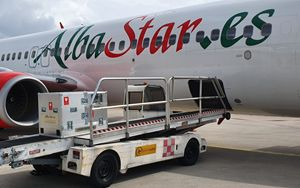 Trasporto aereo, Albastar riparte per Lourdes