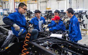 Cina, utili industriali in crescita ad agosto