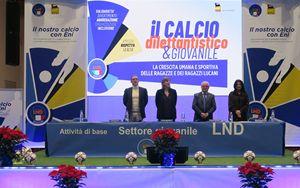 Viggiano, Comitato Regionale LND e ENI a fianco di giovani calciatrici e calciatori lucani