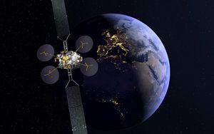 In orbita geostazionaria il satellite Eutelsat Konnect