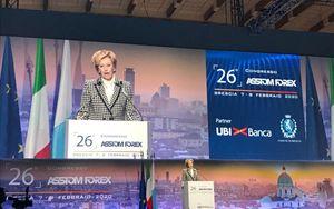 """Assiom Forex, Moratti: """"Banche cruciali per assicurare sostenibilità investimenti"""""""