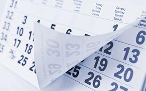 Appuntamenti e scadenze dell