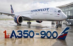 Airbus, consegnato ad Aeroflot primo A350-900 XWB