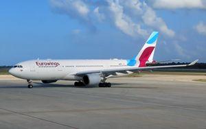 Eurowings (Gruppo Lufthansa), programma di voli ridotto al 10 per cento