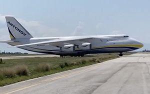 Aeroporto Palermo, carico di tecnologia siciliana per Sydney su Antonov 124-100M-150