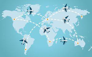 Trasporti, IATA: ritorno a livelli pre Covid non prima del 2024