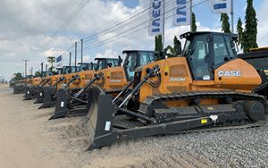 CNH Industrial, CASE Construction Equipment consegna 125 mezzi in Angola
