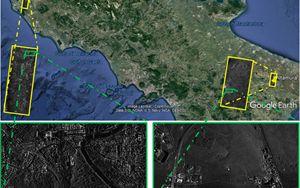 COSMO-SkyMed mappa centinaia di km