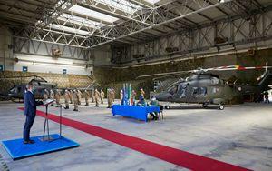 Leonardo consegna il primo elicottero AW169 a Esercito Italiano