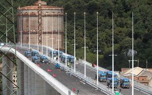 Ponte di Genova, iniziate prove di collaudo