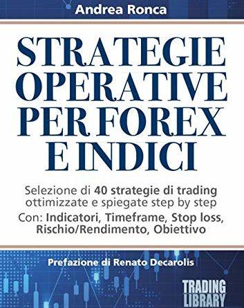 Strategie operative per forex e indici. Selezione di 40 strategie di trading ottimizzate e spiegate passo dopo passo