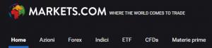 piattaforme trading: markets